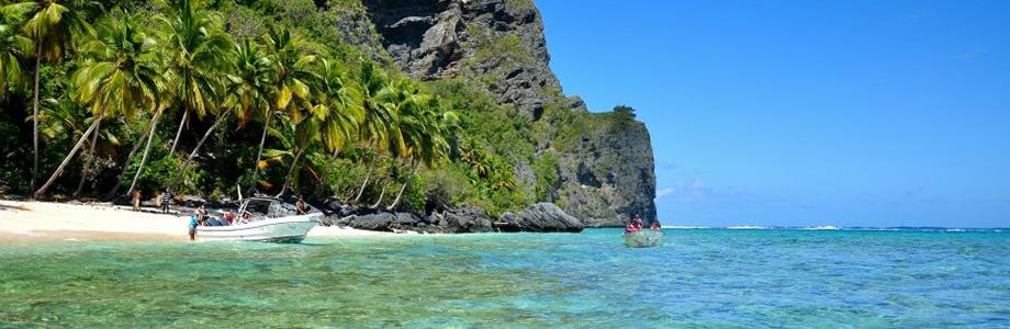 Playa Fronton - Survivor day Las Galeras Dominican Republic